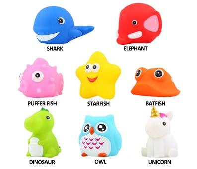 Product image of Flashing Color Changing Bath Toys