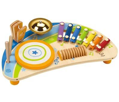 Product image of Hape Mighty Mini Band Wooden Percussion Instrument