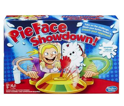 Product image of Hasbro Pie Face Showdown Game