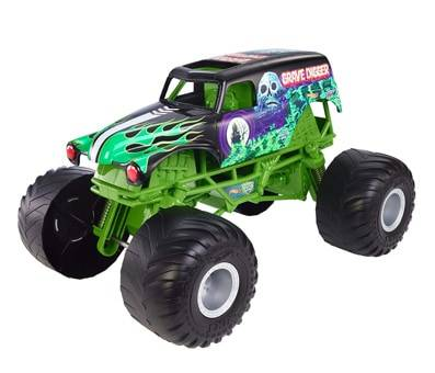 Product image of Hot Wheels Monster Jam Giant Grave Digger Truck