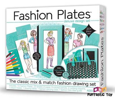 Product image of Kahootz Fashion Plates Deluxe Kit