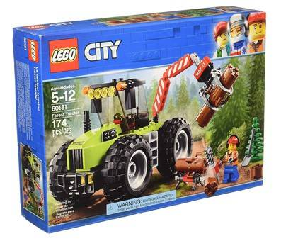 Product image of LEGO City Forest Tractor 60181 Building Kit