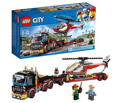 Product image of LEGO City Heavy Cargo Transport 60183 Building Kit (310 Piece)