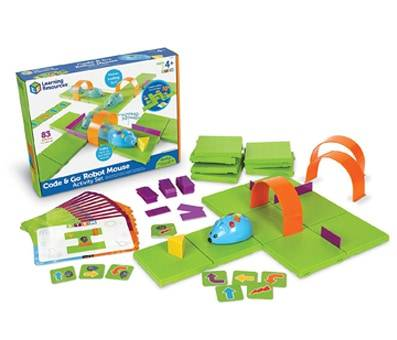 Product image of Learning Resources Code & Go Robot Mouse Activity Set