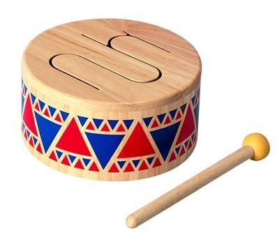 Product image of Plan Toy Solid Wood Drum