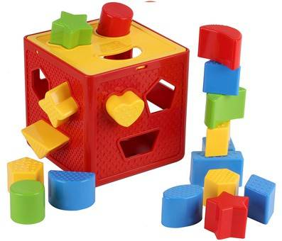 Product image of Play 22 Baby Blocks Shape Sorter Toy