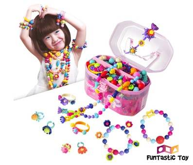 Product image of Pop Beads Jewelry Making Kit