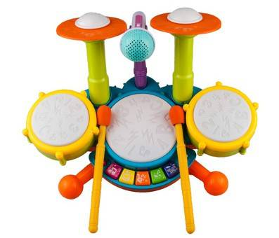 Product image of Rabing Kids Drum Set Beats with a Microphone