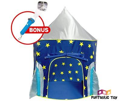 Product image of Rocket Ship Play Tent for Boys