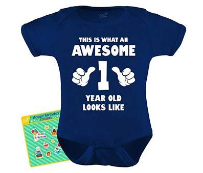 Product image of This is What an Awesome One Year Old Looks Like Bodysuit