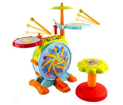 Product image of WolVol Electric Big Toy Drum Set