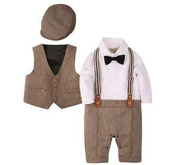 Product image of ZOEREA Baby Boy Gentleman Outfit