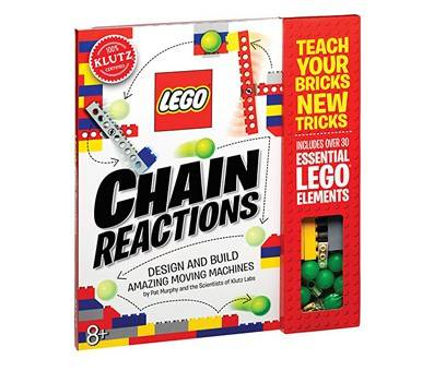 Product image of Klutz LEGO Chain Reactions Craft Kit