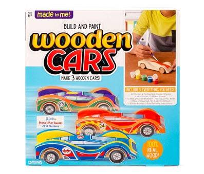 Product image of Build & Paint Your Own Wooden Cars
