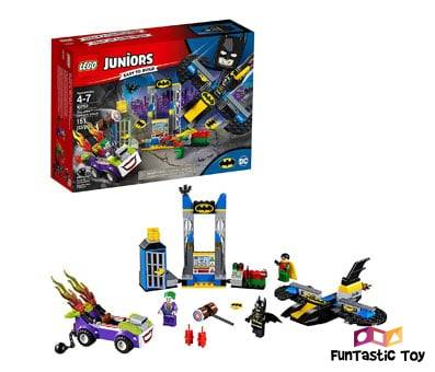 Product image of LEGO Juniors 4+ DC The Joker Batcave Attack 10753 Building Kit