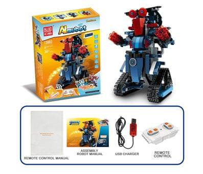 Product image of DAZHONG Electric RC Robot Bricks STEM Toy