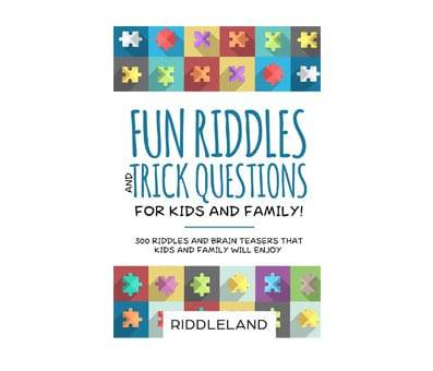 Product image of Fun Riddles & Trick Questions For Kids and Family