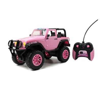 Product image of GIRLMAZING Big Foot Jeep RC Vehicle