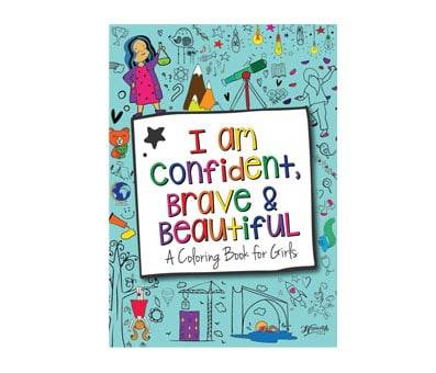 Product image of I Am Confident, Brave & Beautiful A Coloring Book for Girls