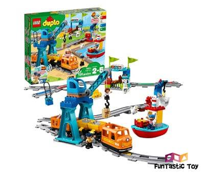 Product image of LEGO DUPLO Cargo Train 10875 (Battery-Operated)