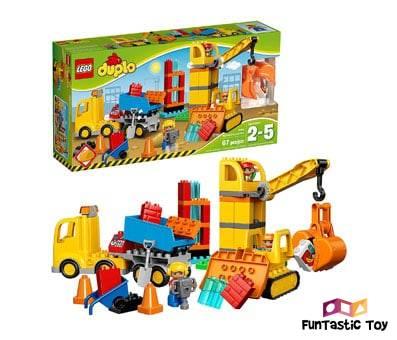 Product image of LEGO Duplo Big Construction Site 10813