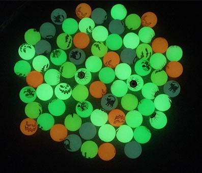 Product image of 72 Glow in The Dark Bouncing Balls
