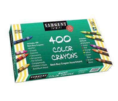 Product image of Sargent Art 400-Count Crayon Class Pack