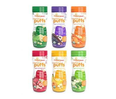 Product image of Happy Baby Organic Superfood Puffs